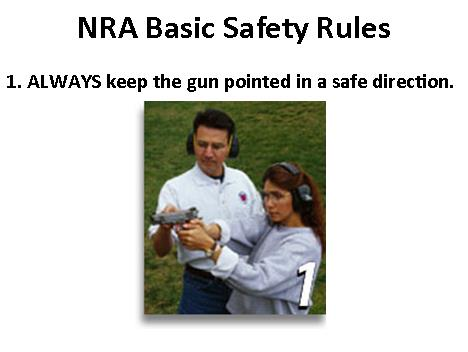 NRA Safety Rule 1